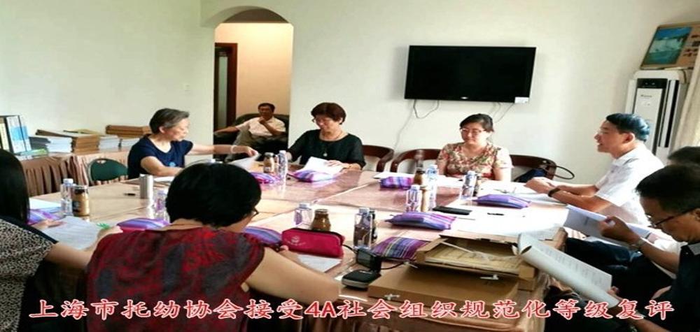 上海市托幼协会接受4A社会组织规范化等级复评
