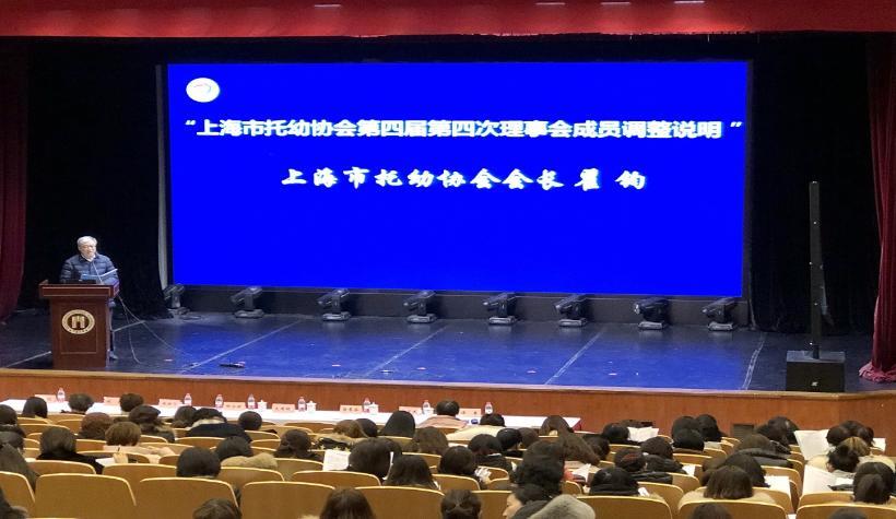 上海市托幼协会第四届第四次理事会会议、第四届第三次会员代表大会胜利召开